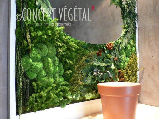 Murs mixtes compos s de v g taux artificiels et semi artificielles toujours sans entretien - Mur vegetal exterieur sans entretien ...