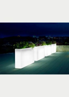 jardini re lumineuse haute cubique plante stabilis e ou artificielle murs v g taux sur mesure. Black Bedroom Furniture Sets. Home Design Ideas