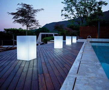 pot lumineux rectangulaire haut plante stabilis e ou artificielle murs v g taux sur mesure. Black Bedroom Furniture Sets. Home Design Ideas