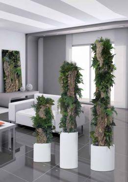 totem bosque naturel stabilis sans entretien de couleur dominante vert gris. Black Bedroom Furniture Sets. Home Design Ideas