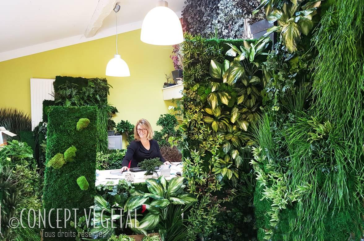 Plantes Pour Tableau Végétal Intérieur mur et tableau en végétal stabilisé ou artificiel